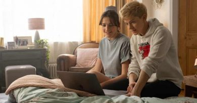 Martin with Charlotte Ritchie in Feel Good.